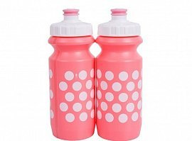 Фляга 600ml Polka Dot с Big Flow valve, LDPE
